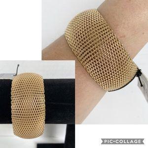 Sequin Jewelry Nordstrom Gold tone Mesh Bracelet